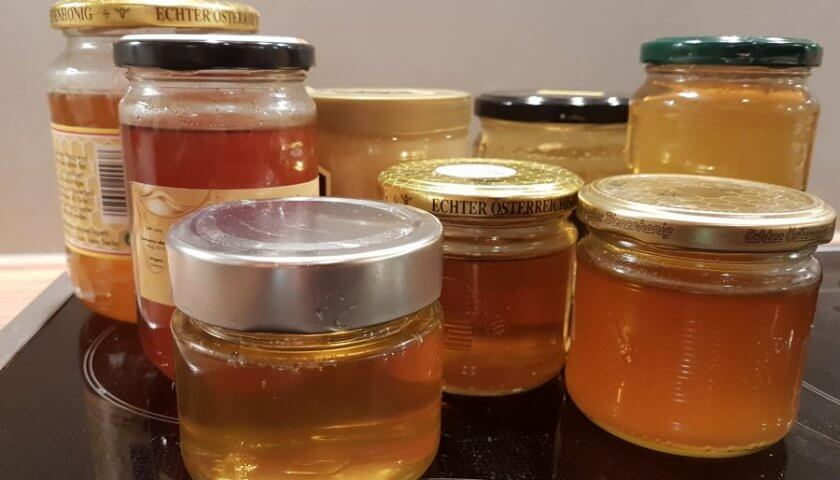 Wiener-Honig-Preis-Honiggläser