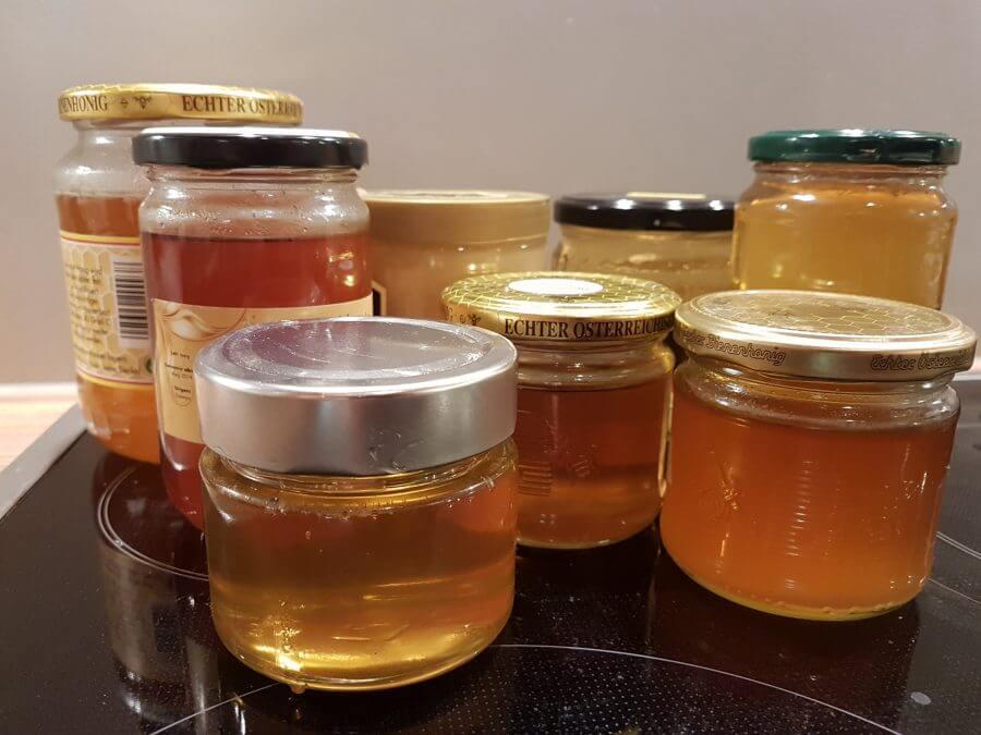 Honiggläser