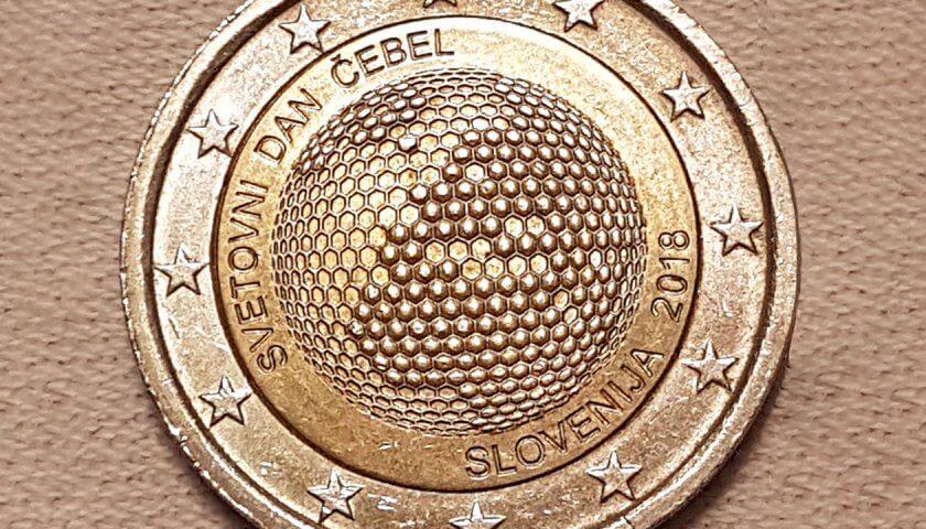 2 Euro Weltbienentag