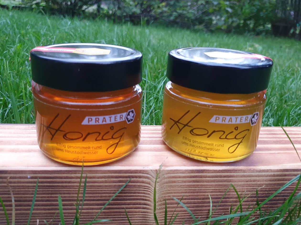 Prater-Honig Glas